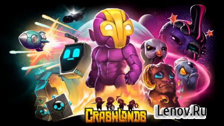 Crashlands v 100.0.63 Мод (Русская версия)