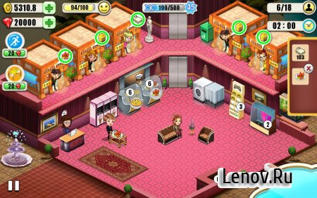 Resort Tycoon - Hotel Simulation Game v 9.3 (Mod Money/Unlimited Gems)