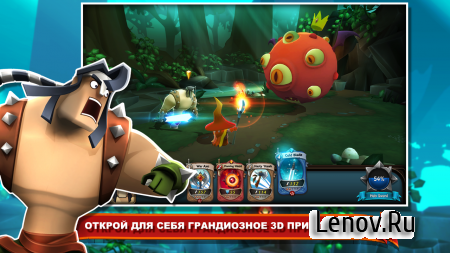 BattleHand v 1.12.0 Мод (Experience needed to level cards is set to 1)