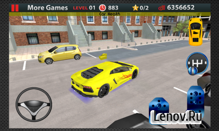 Driving School 3D Parking v 1.7 Мод (Unlimited money)