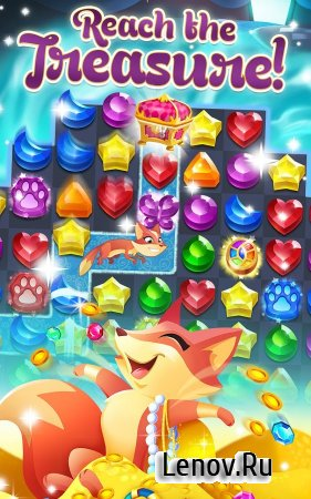 Genies & Gems v 62.55.107.03131026 Мод (Infinite Lives Always Active/Infinite Coins/Extra Moves)