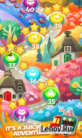 Juice Jam v 2.17.8 Мод (Unlimited Lives/Coins/Extra Moves)