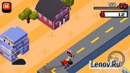 Crush Road (Road Fighter) v 1.0.2 Мод (много денег)