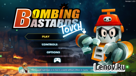 Bombing Bastards: Touch! v 1.0.0 Мод (Enemy freezing & More)