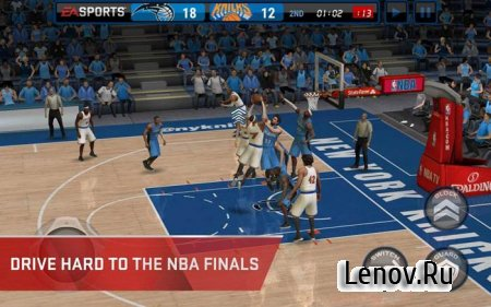NBA LIVE Mobile Basketball v 3.3.04 Мод (много денег)