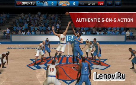 NBA LIVE Mobile Basketball v 4.3.40 Мод (много денег)