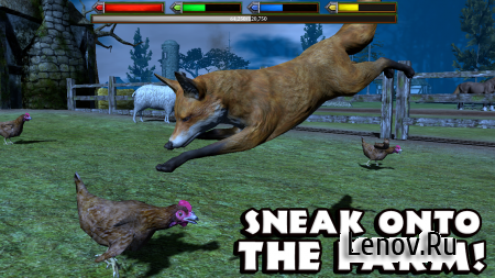 Ultimate Fox Simulator (обновлено v 1.1) (Full) (Mod points/skills & More)