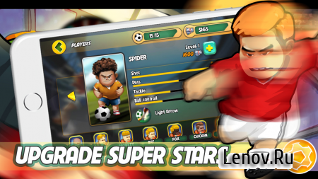 Kung fu Feet: Ultimate Soccer (обновлено v 1.0.11) Мод (Gold/Coin/Stamina)