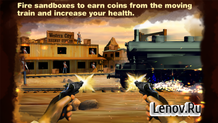 Western Cowboy Killing Shooter v 1.10 Мод (Unlimited Money)