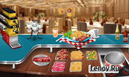 Cooking Stand Restaurant Game v 2.0.0 Мод (Unlimited Money)