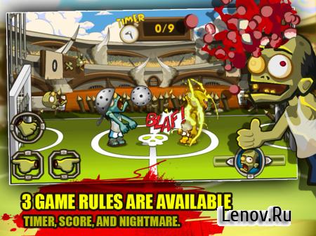 Zombie Smashball (обновлено v 1.6) (Mod Money)