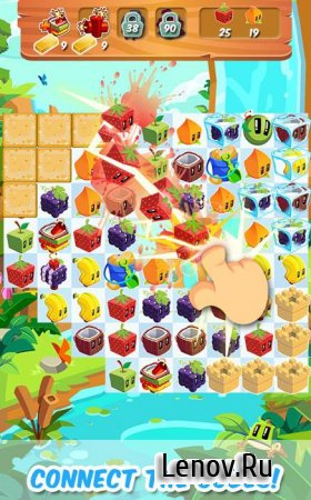 Juice Cubes v 1.80.01 Mod (Unlimited Gold)