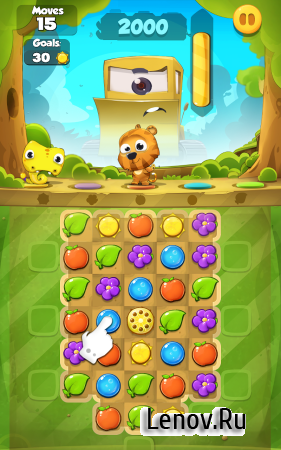 Pet Friends Line Match 3 Game v 1.0 b8 Мод (Free Shoping & More)