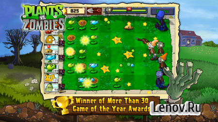 Plants vs. Zombies FREE v 2.9.01 Мод (Infinite Coins)