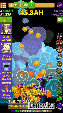 Tap Tap Infinity v 1.7.8 Мод (Fast Level Up & More)