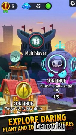Plants vs. Zombies™ Heroes v 1.30.5 Mod (Unlimited Turn)