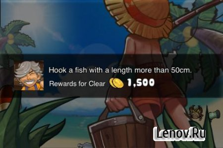 Funny Fish – Fishing Fantasy v 2.4 Мод (Unlimited coins)