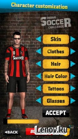 Urban Soccer Challenge Pro (обновлено v 1.11) Мод (много денег)