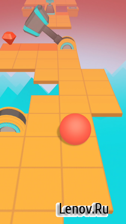 Rolling Sky v 3.4.1 Мод (Unlimited Balls/Shields)