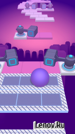 Rolling Sky v 1.9.4 Мод (Unlimited Balls/Shields)