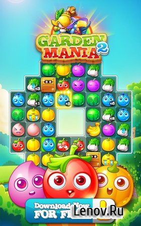Garden Mania 2 v 3.5.0 Мод (Infinite Coins/Adfree)