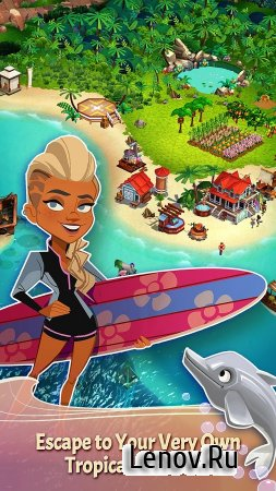 FarmVille: Tropic Escape v 1.46.1709 Мод (Infinite coins/gems)