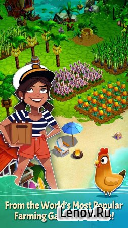 FarmVille: Tropic Escape v 1.69.4922 Мод (Infinite coins/gems)