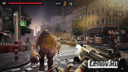 ZOMBIE MANIAC SHOOTING v 1.0 Мод (Unlimited Gold & More)