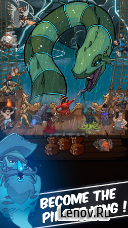 Clicker Pirates - Tap to fight (обновлено v 1.1.5) Мод (Infinite Coins)