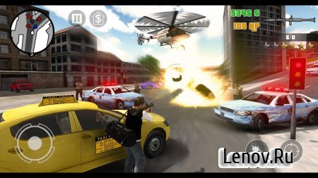 Clash of Crime Mad San Andreas v 1.2.9 Мод (много денег)