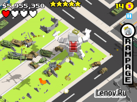 Smashy City v 2.4.4 Мод (Infinite Money)
