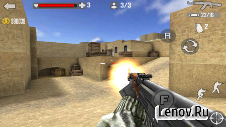 Shoot Strike War Fire v 1.1.8 Мод (Coins Add/Speed Hack)