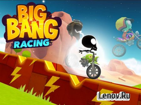 Big Bang Racing v 3.7.1 Мод (много денег)