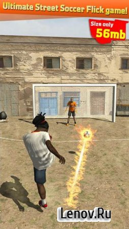 Street Soccer Flick v 1.15 Мод (Unlimited Gold Coins)