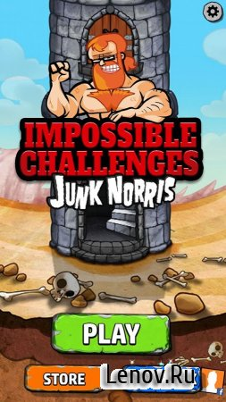 Junk Norris Nonstop Challenges (обновлено v 4.43) Мод (Unlocked)