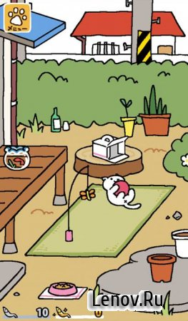 Neko Atsume: Kitty Collector v 1.14.0 Мод (много денег)