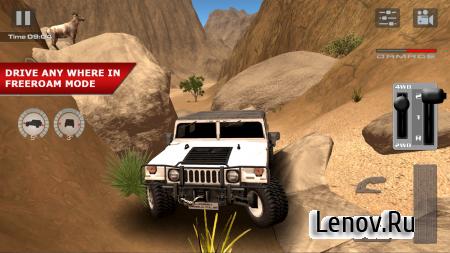 OffRoad Drive Desert (обновлено v 1.0.6) Мод (много денег)