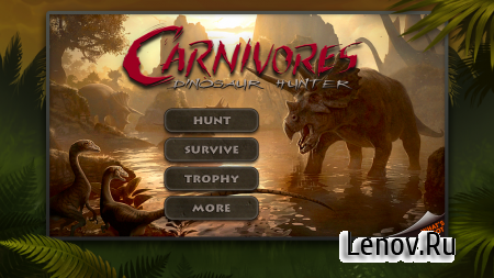 Carnivores: Dinosaur Hunter HD v 1.8.3 Мод (Unlock all DLCs/Infinite points)