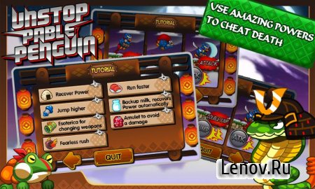 Unstoppable Penguin v 1.8 (Mod Money)