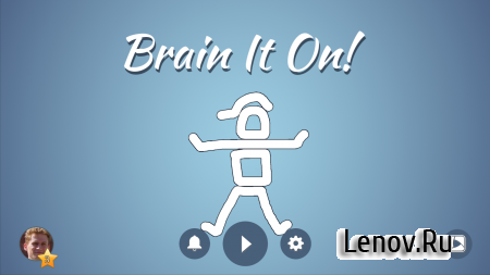 Brain It On! - Physics Puzzles v 1.6.7 Мод (All levels unlocked & More)