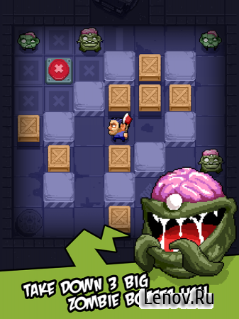 Zombie Maze (Unreleased) v 1.004 Мод (Unlimited Life)