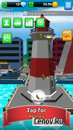 Harbor Tycoon Clicker (обновлено v 1.0.2) (Mod Gems)