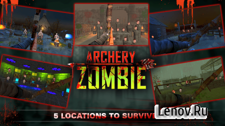 Archery Zombies v 1.2 Мод (Infinite Money/Unlock)