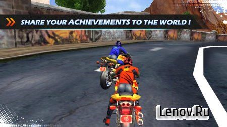 Bike Race 3D - Moto Racing v 1.2 Мод (nfinite Money/Unlock)