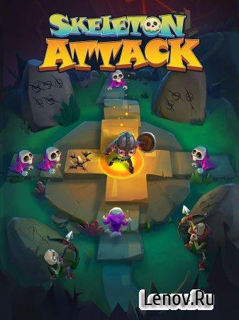Skeleton Attack (обновлено v 1.2.0) (Mod Money)