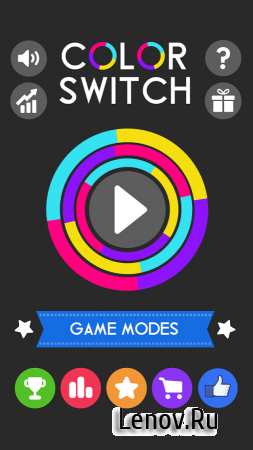 Color Switch v 1.84 Мод (All Unlocked)