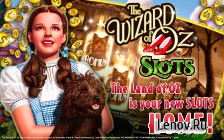 Wizard of Oz Free Slots Casino v 149.0.2065 Мод (Multiplier set to x100 on first level)