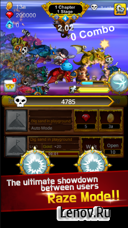 Part Time Hero: Monster Mayham (обновлено v 1.20) (Mod Money)