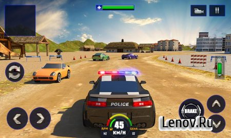 Police Chase Adventure sim 3D (обновлено v 1.2) Мод (много денег)