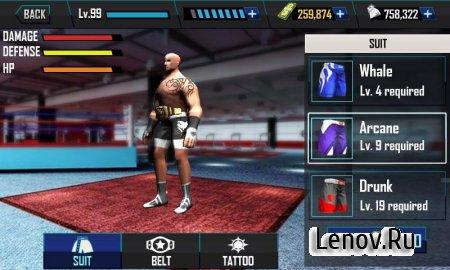Real Wrestling 3D v 1.9 Мод (много денег)